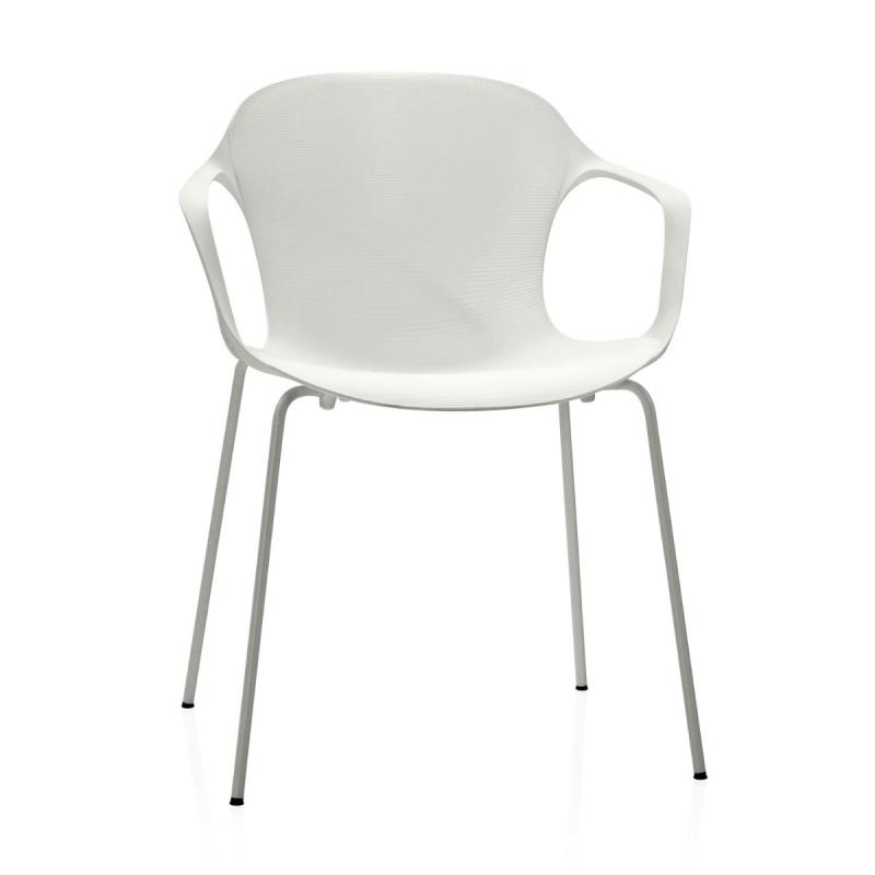 Nap Armchair, White Shell/White Base
