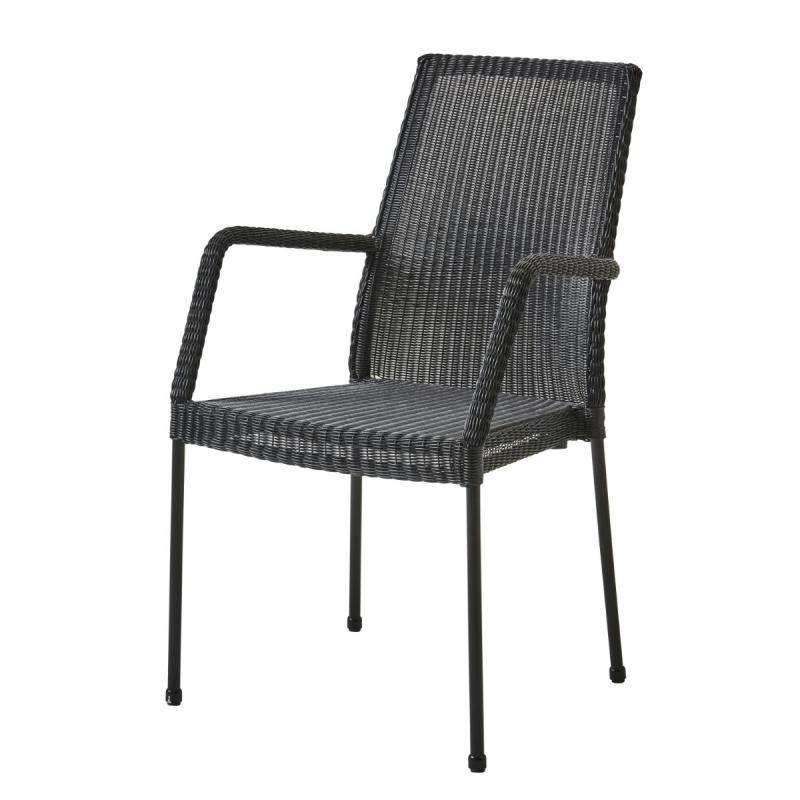 Newport Armchair, Black