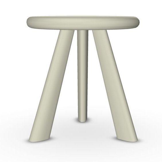 Oliva Side Table, Ø30cm, Sand