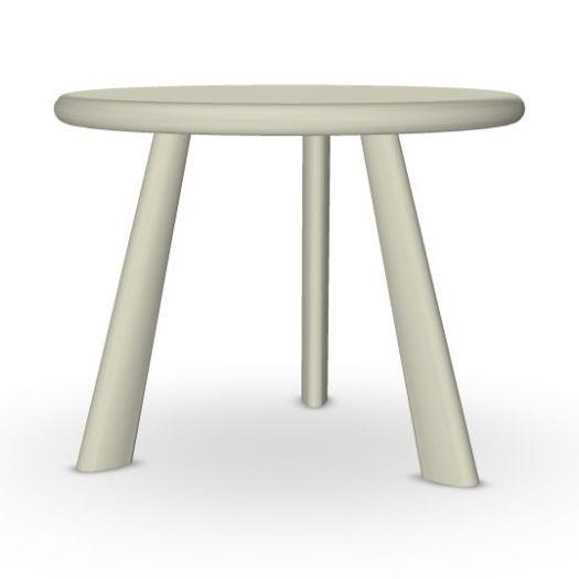 Oliva Side Table, Ø50cm, Sand