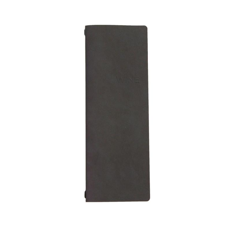 Oslo Folder, Tall, Black / Metallic