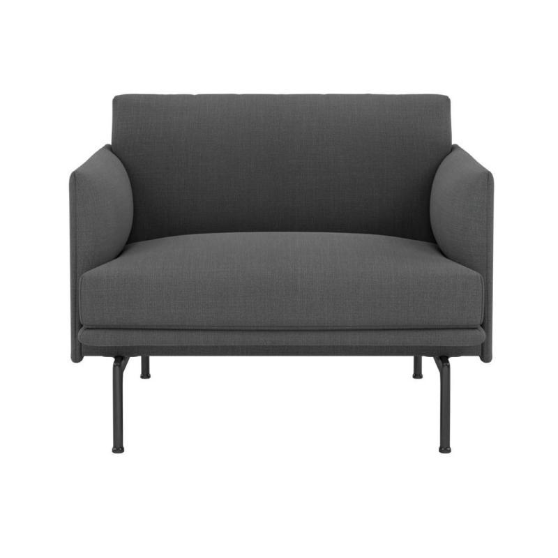 Outline Chair, Black Base