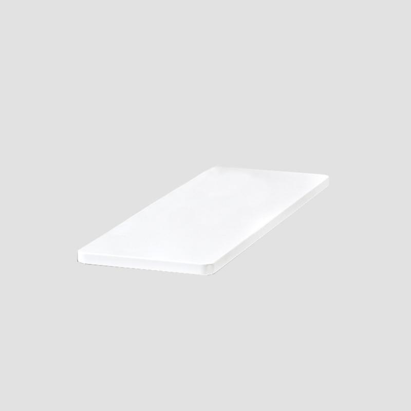 Space Side Plate, White