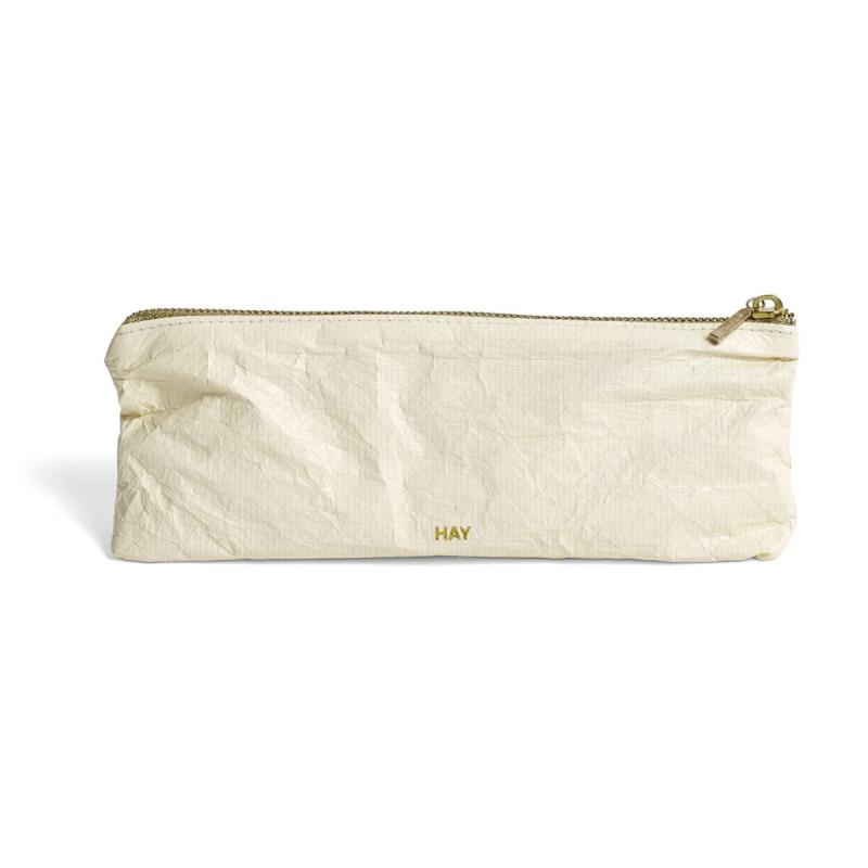 Packing Essentials, Zip Rectangular S, Soft Yellow
