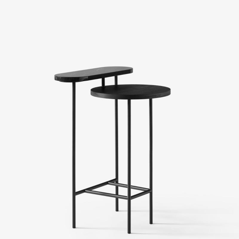 Palette Side Table JH26, Black