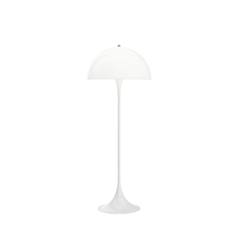 Panthella Floor Lamp, White Opal