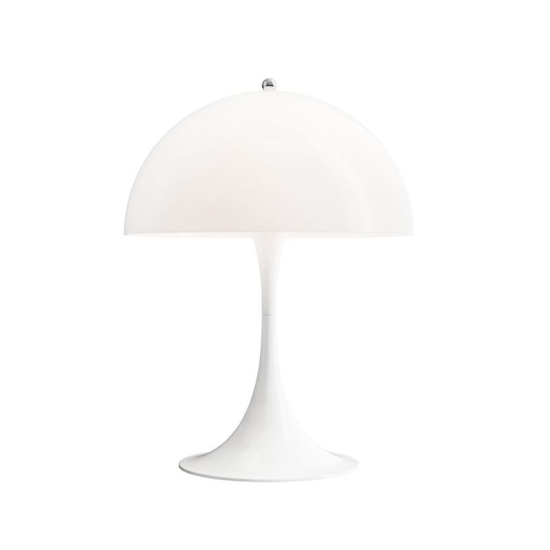Panthella Table Lamp, White Opal