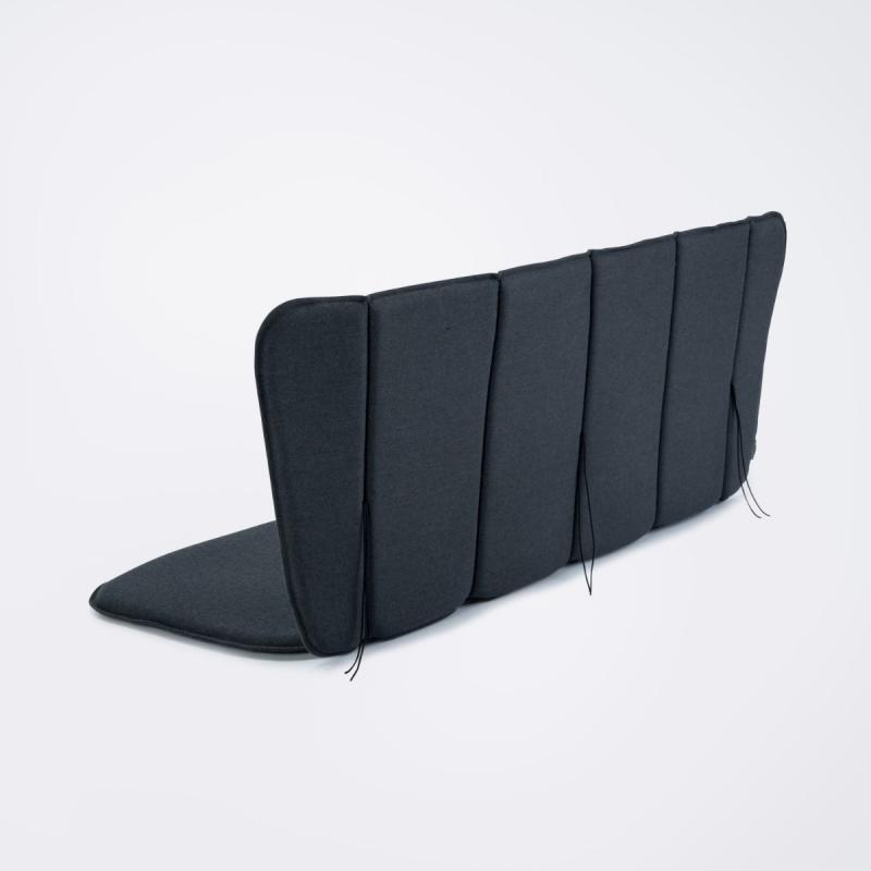 Paon Bench Cushion, Carbon Grey