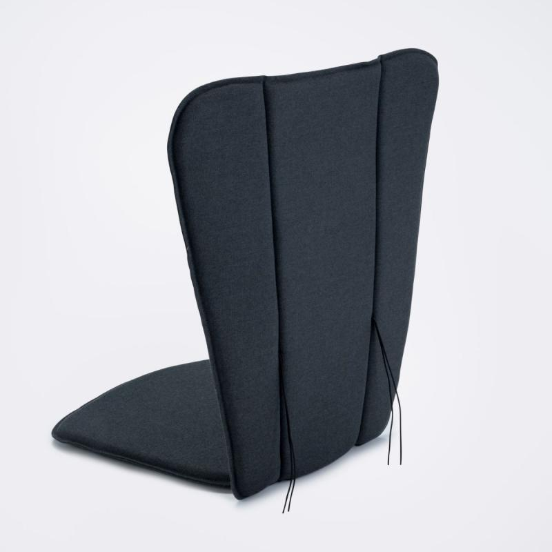 Paon Lounge/Rocking Chair Cushion, Carbon Grey