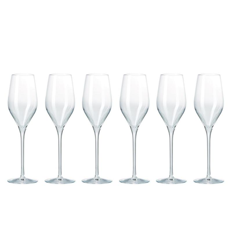 Passion Connoisseur Champagne Glasses, Set of 6