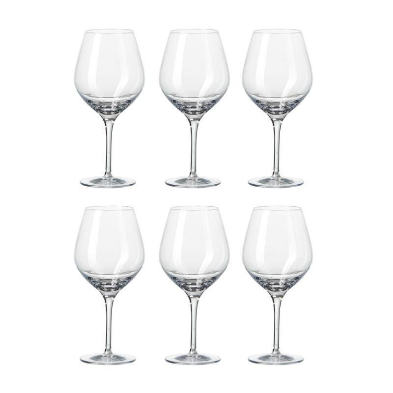 Passion Connoisseur Red Wine Glasses, Set of 6