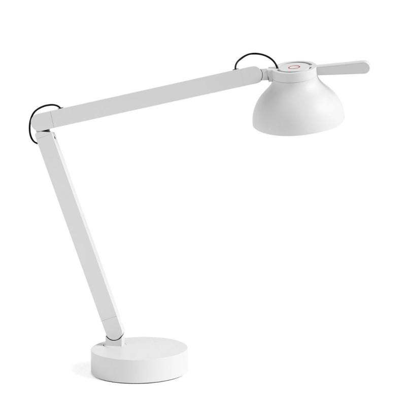 PC Table Lamp Double Arm With Table Base