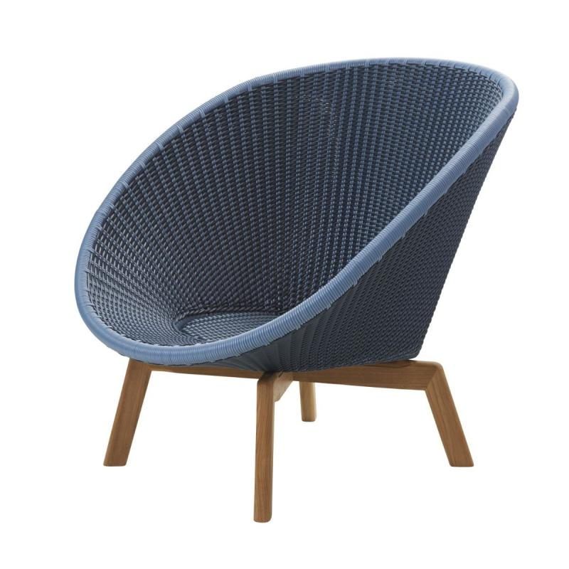 Peacock Lounge Chair, Weave