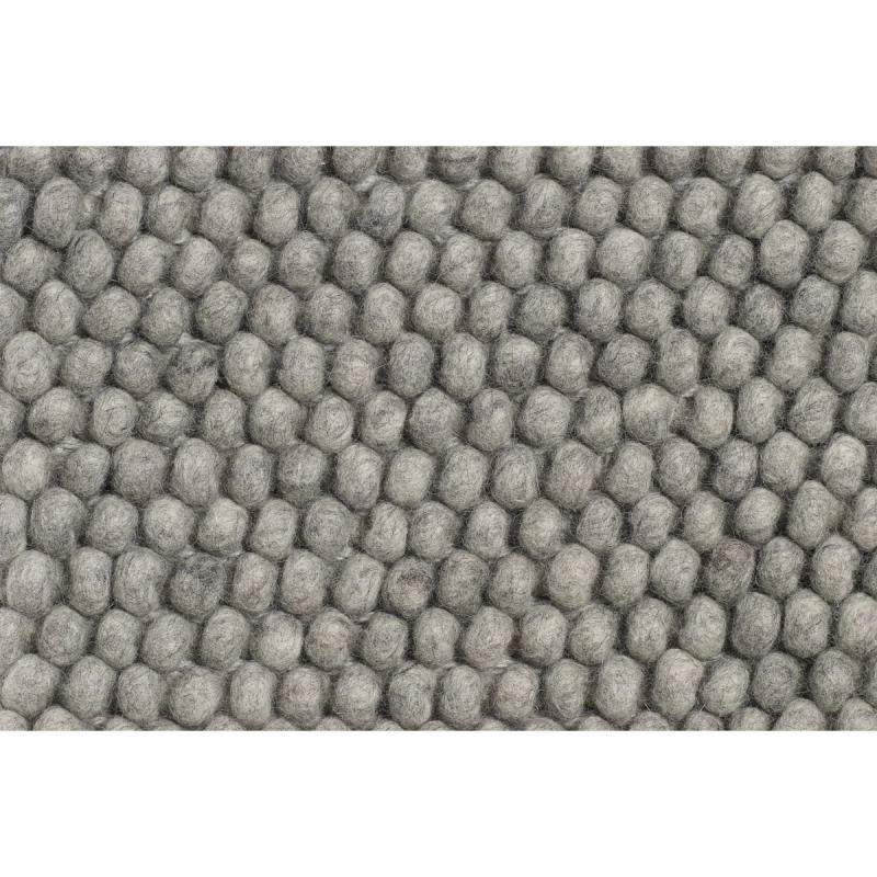 Peas Rug, 80x200cm, Medium Grey