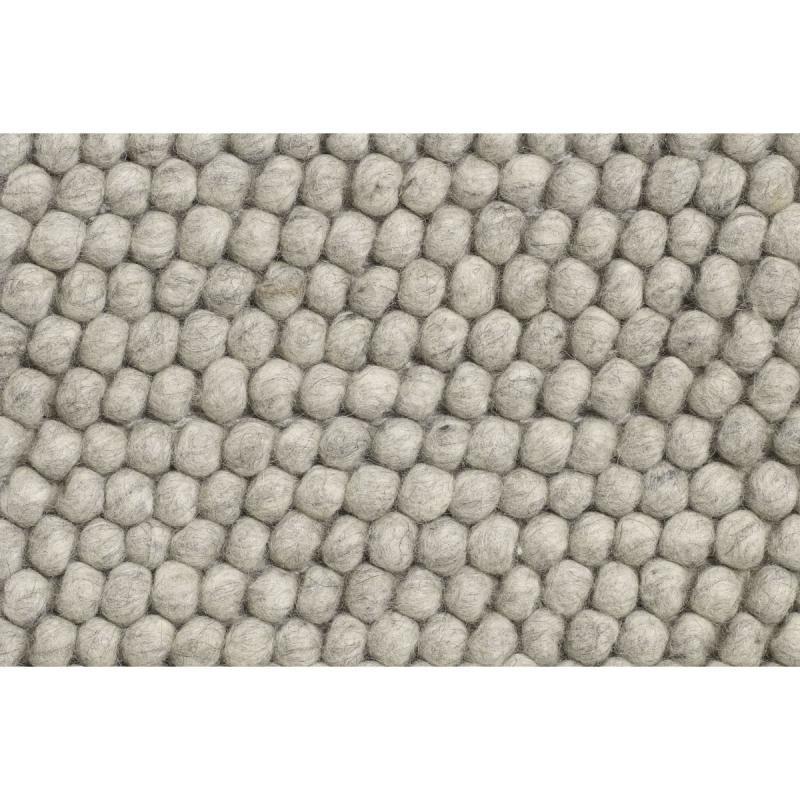 Peas Rug, 170x240cm, Medium Grey