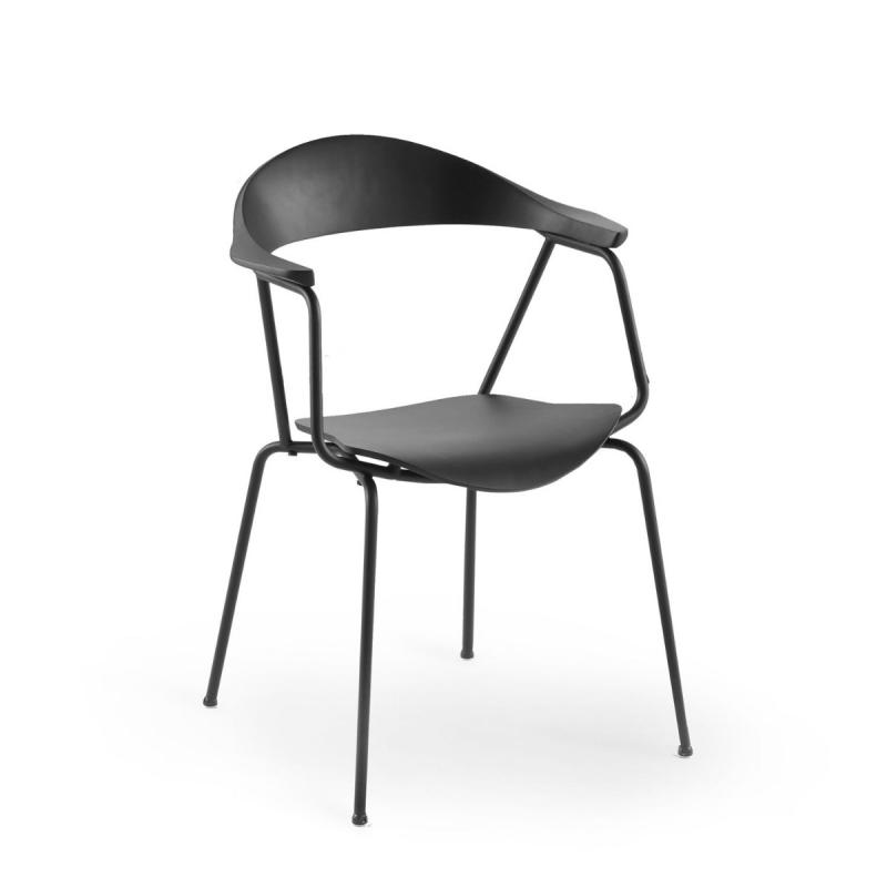 Piun Chair, Black