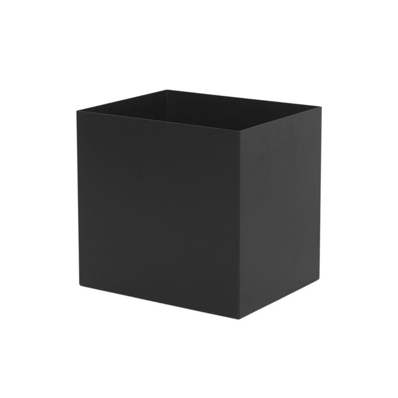 Plant Box Pot, Black