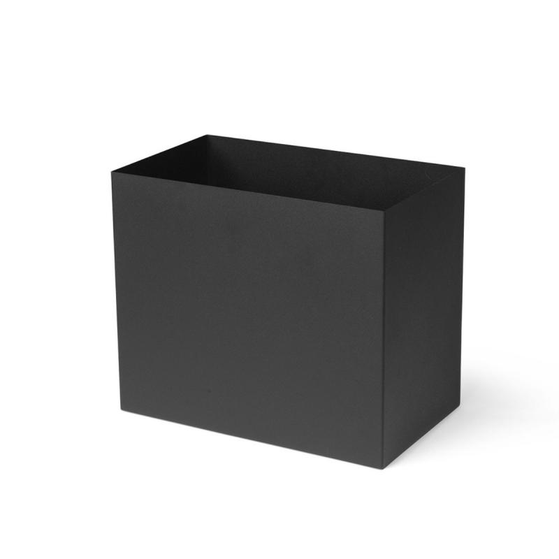 Plant Box Large Pot, Black