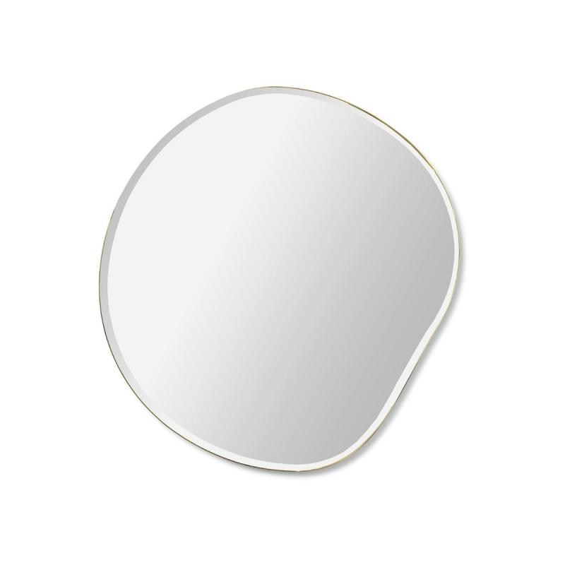 Pond Mirror, Small, Brass