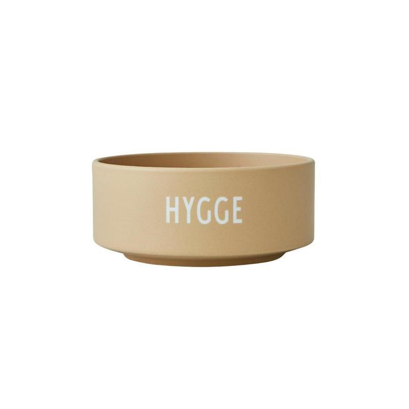 Porcelain Snack Bowl, Hygge, Beige