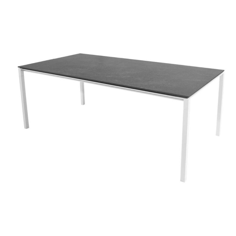 Pure Table, 200x100cm, White Base