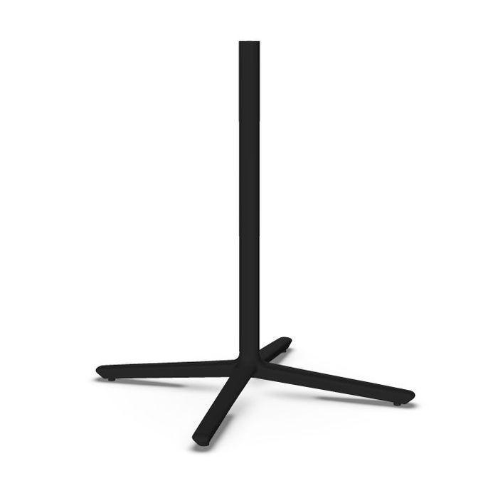 Quattro Table Base, H72cm, Black