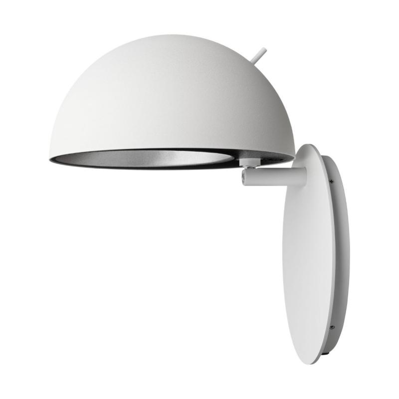 Radon Wall Lamp, Matt White