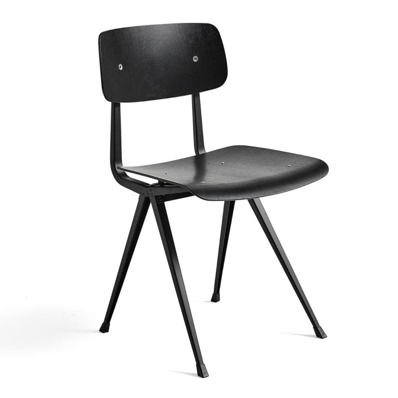 Result Chair, Black Shell / Black Base