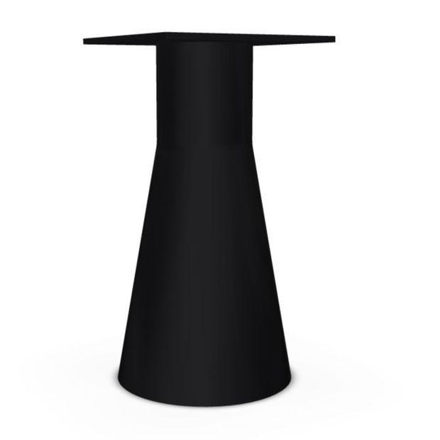 Reverse 38 Table Base, H72.5cm, Black