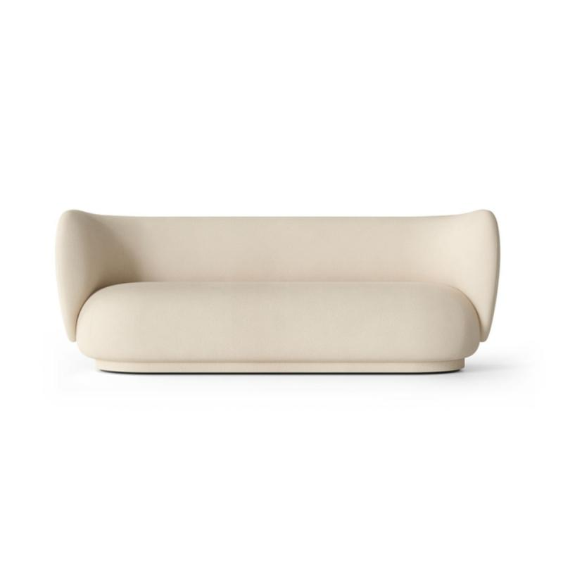 Rico Sofa, 3-Seater, Brushed