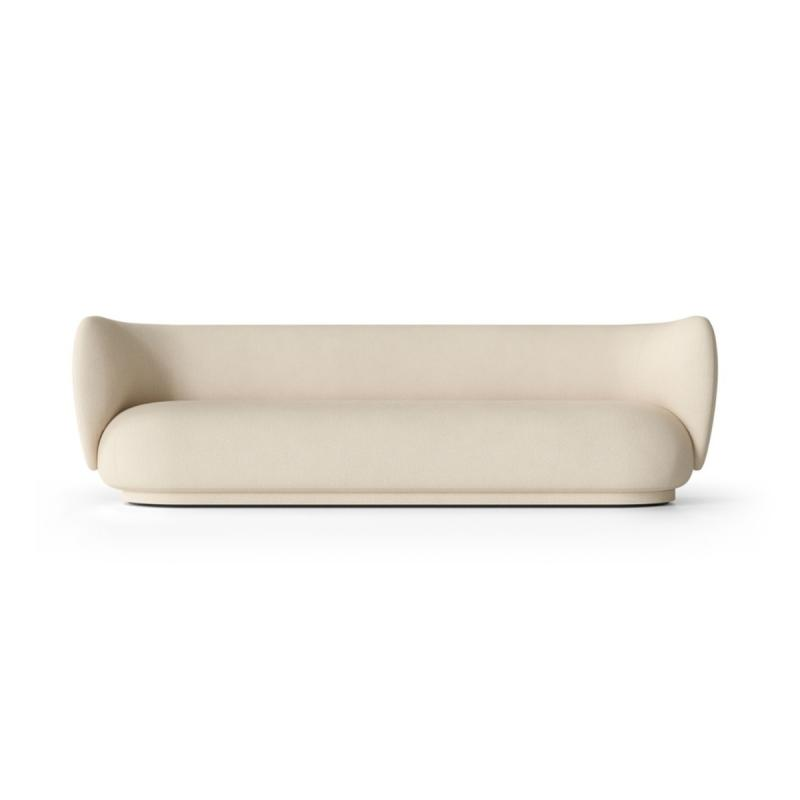 Rico Sofa, 4-Seater, Brushed