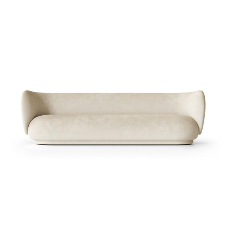Rico Sofa, 4-Seater, Faded Velvet