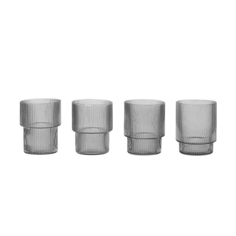 Ripple Glasses, Set of 4