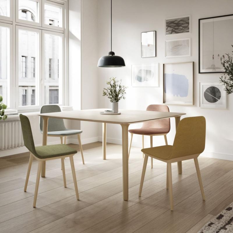 Roll Table, 160x90cm, Oak