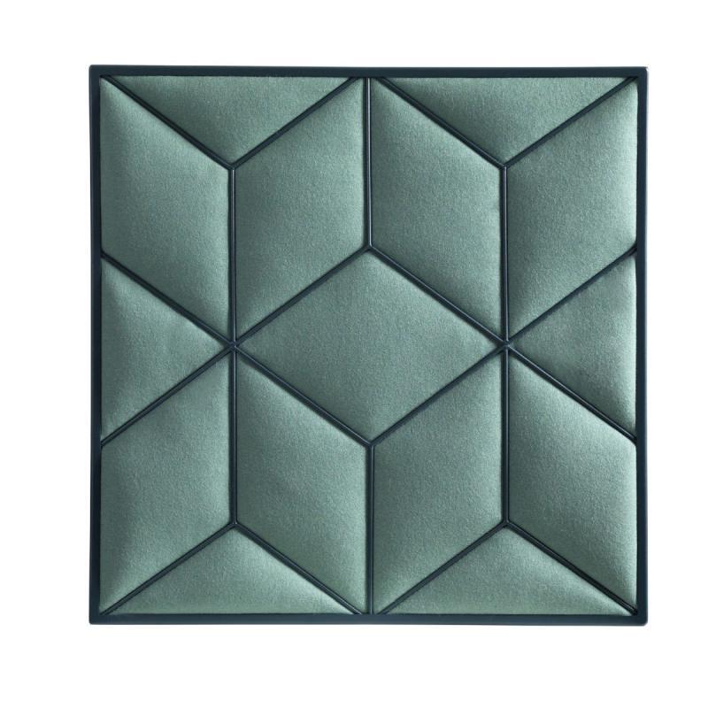 Romb Wall Panel, Green
