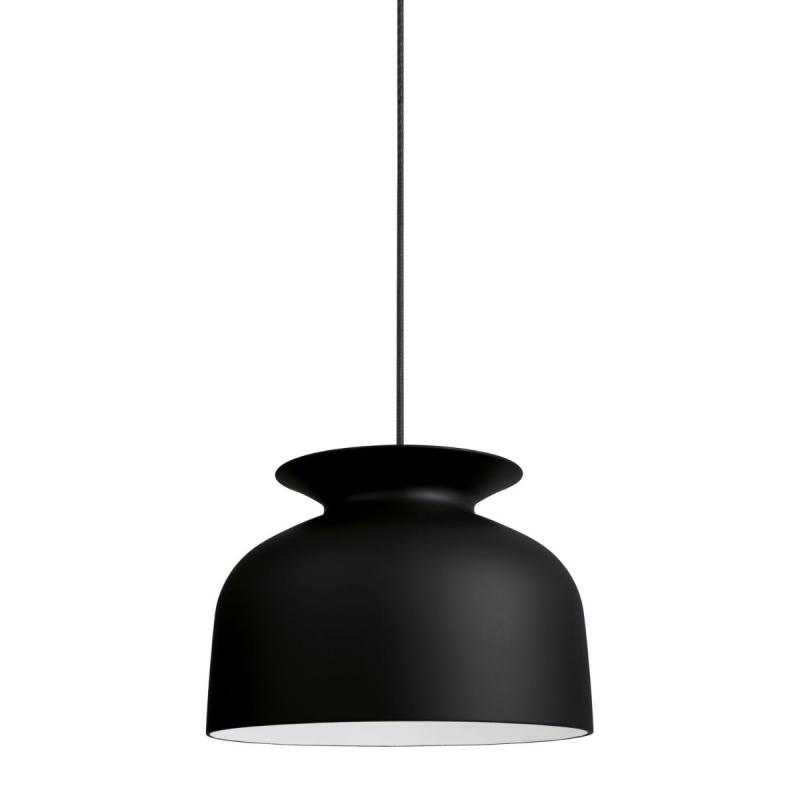 Ronde Pendant, Ø40cm, Soft Black