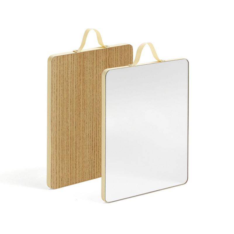 Ruban Rectangular Mirror, M, Yellow