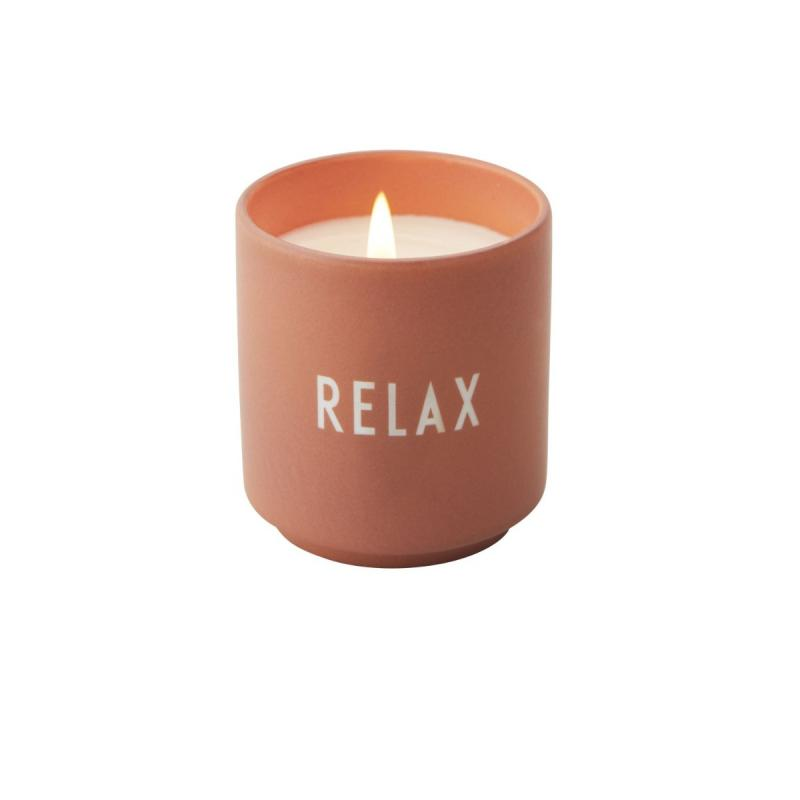 "Scented Candle, Nude ""RELAX"""