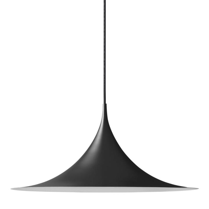 Semi Pendant, Ø60cm, Black