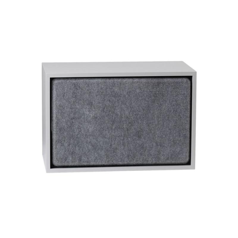 Stacked Acoustic Panel, Large, Grey Melange