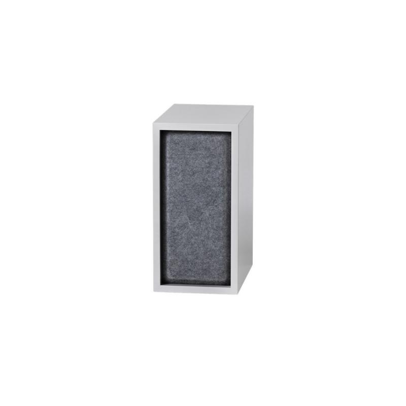 Stacked Acoustic Panel, Small, Grey Melange