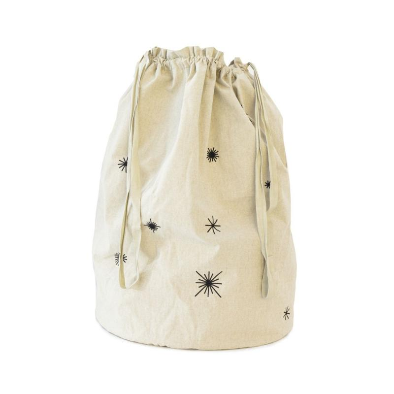 Star Christmas Bag, Sand
