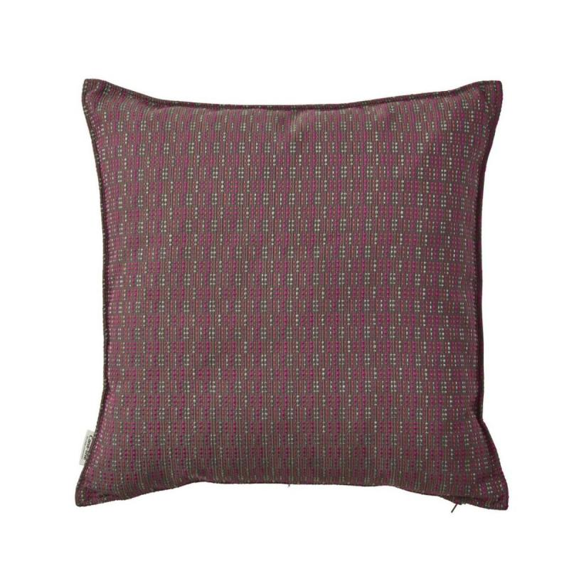 Stripe Scatter Cushion, 50x50cm, Multi Pink