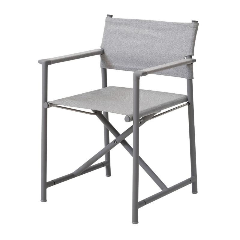Struct Folding Chair, Light Grey