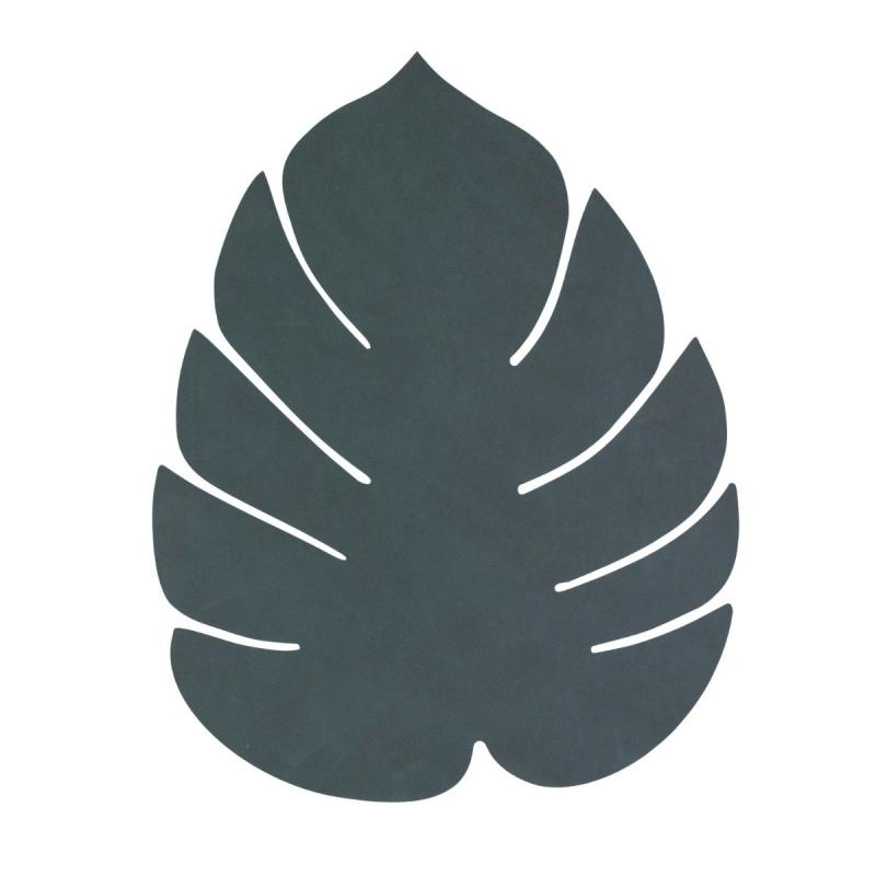 Monstera Leaf Table Mat, L, Nupo Leather