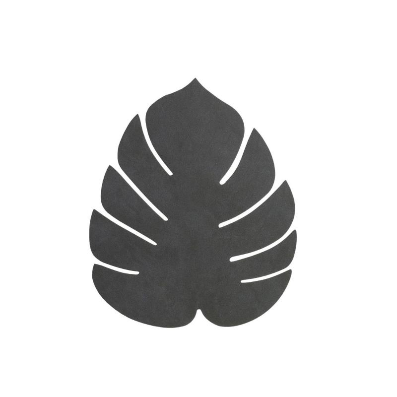Monstera Leaf Table Mat, S, Nupo Leather