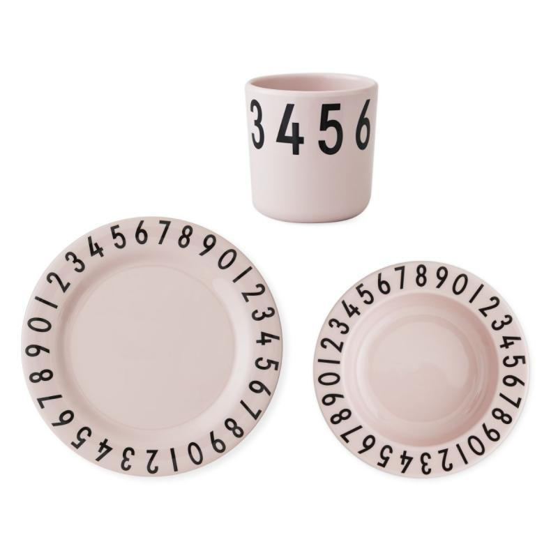 The Numbers Gift Set, Melamine