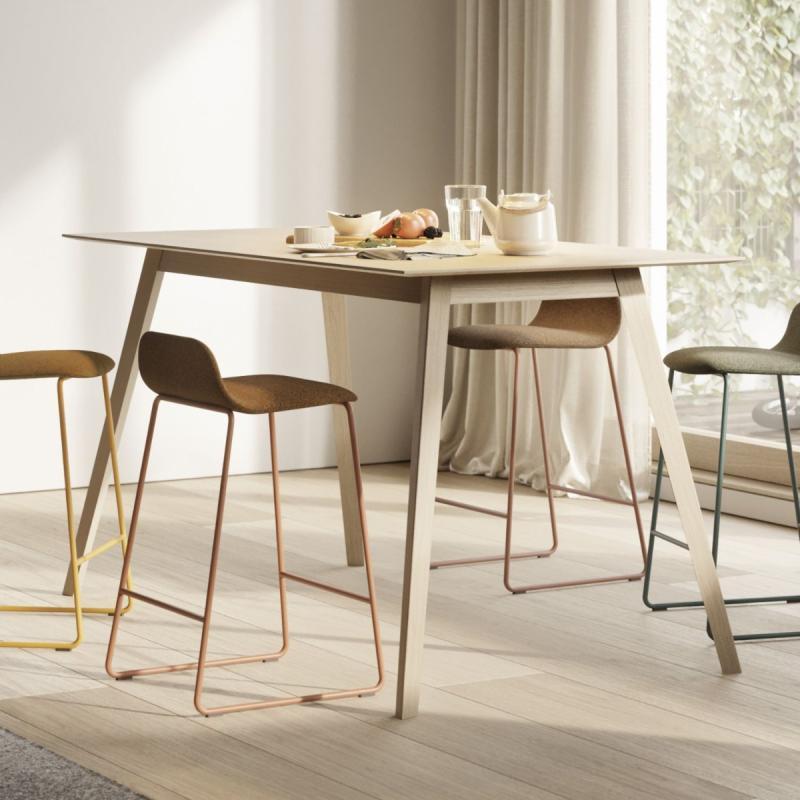 Aise High Table, 140x90cm, Oak