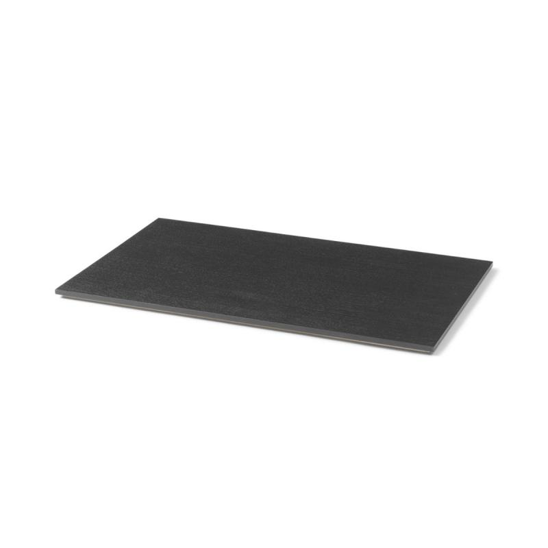 Tray For Plant Box Large, Wood, Black