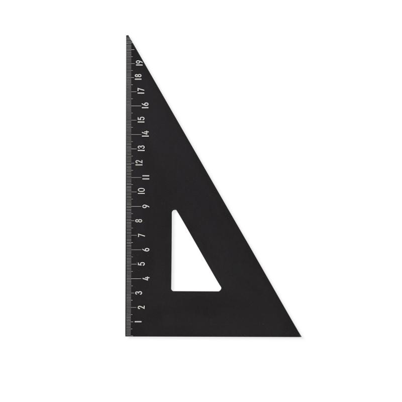 Triangular Ruler, Black
